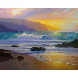 SUNRISE –MEDITERRANEAN SEA...